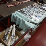 Chromed parts