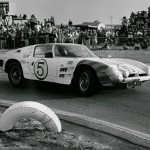 Car as it raced in 1964